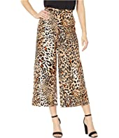 Leopard Printed Wide-Legged Pants
