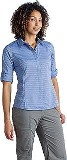 ExOfficio Women's Ventana Stripe Casual Long-Sleeve Shirt