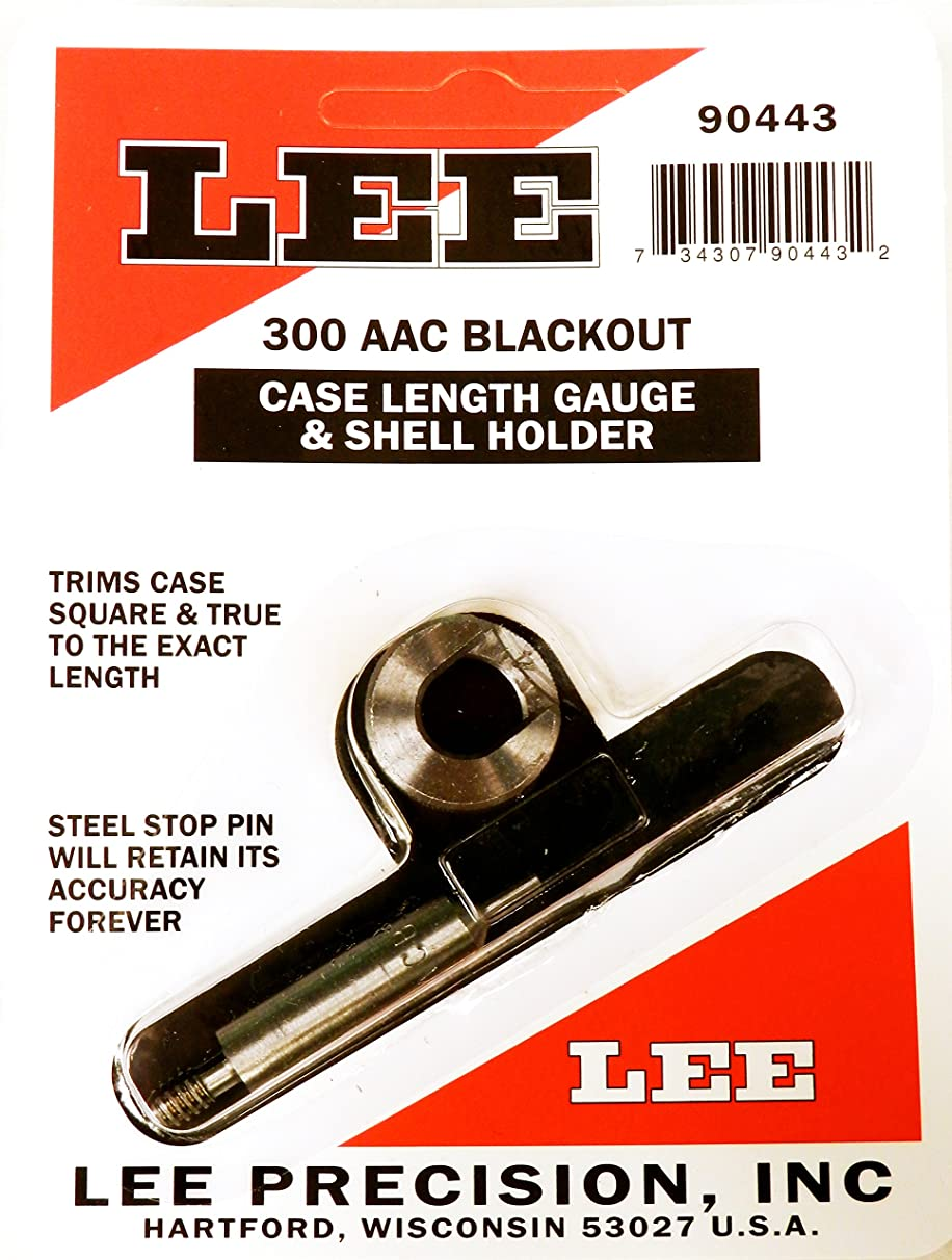 Lee Precision Reloading Gauge/Holder 300 AAC Blackout Lee Precision Gauge/Holder 300 AAC Blackout, Silver, Small