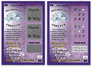 Will You Be My Maid of Honor? - Lotto Replica Scratch Off Card - 1 Card - My Scratch Offs
