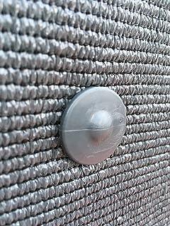 Fixation brise vue GRIPNET traités anti-UV pour panneaux grillagés (diamètre tige 5mm) X30 (gris anthracite)