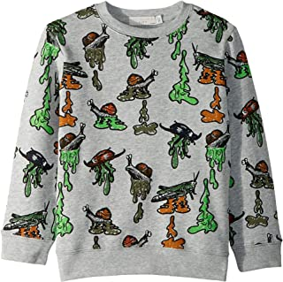 Mens Biz Snail Printed Fleece Sweater (Toddler/Little Kids/Big Kids)