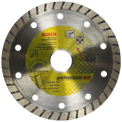 Bosch 2608602394 - Disco tronzador de diamante Universal Turbo (125 x 22,23 x 2 x 10 mm)