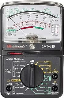 Gardner Bender GMT-319 Multimeter Tester, RJ-45 & RJ-11, 19 Range