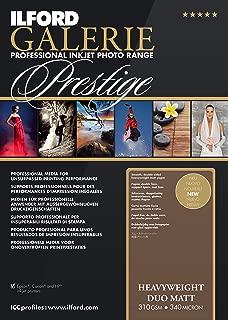 ILFORD 2003178 GALERIE Prestige Heavyweight Matt Duo - 8.5 x 11 Inches, 50 Sheets
