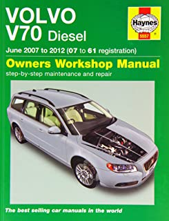 Volvo V70 Diesel (June 07   12) 07 To 61: 2007 2012 (Owners Workshop Manual)