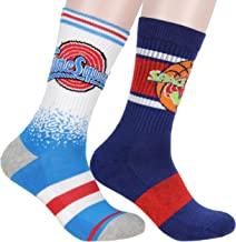 Space Jam and Tune Squad Men's 2 Pack Crew Socks