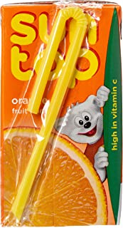 Suntop Orange Fruit Drink 18x125ml
