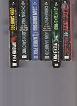 John Sandford - Set Of 6 Books - Certain Prey - Invisible Prey - Naked Prey - Chosen Prey - Wicked Prey - Silent Prey.