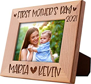 Personalized first mothers day gift for mom from daughter  mom gift from daughter baby girl  mommy frame  new mom gift from husband