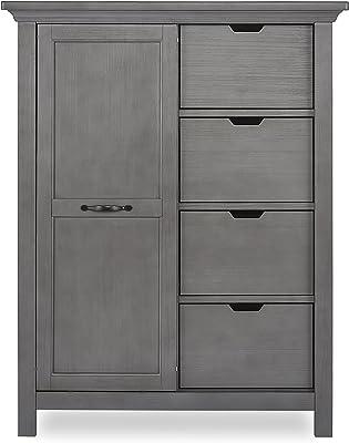 Evolur Belmar Tall Chest, Rustic Grey