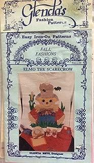 Elmo the Scarecrow - Easy Iron-On Patterns by Glenda Betz