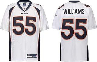 Reebok NFL Denver Broncos DJ Williams #55 weiß Trikot Jersey Onfield Authentic