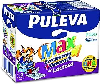 Puleva Max Leche Crecimiento y Desarrollo sin Lactosa - 6 x 1 L - Total: