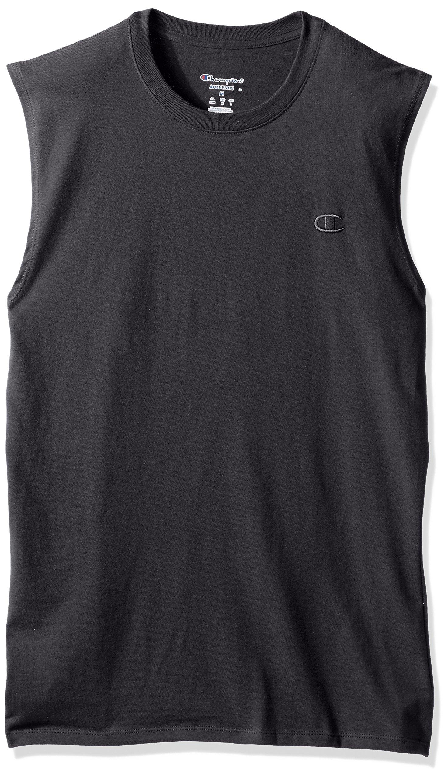 Champion 男士 经典 Jersey Muscle T恤