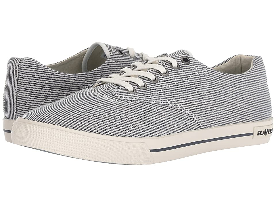 SeaVees Hermosa Plimsoll (Railroad Stripe) Men