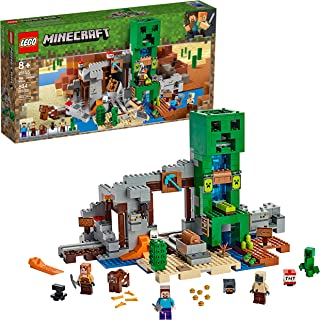 LEGO Minecraft The Creeper Mine 21155 Building Kit, New...