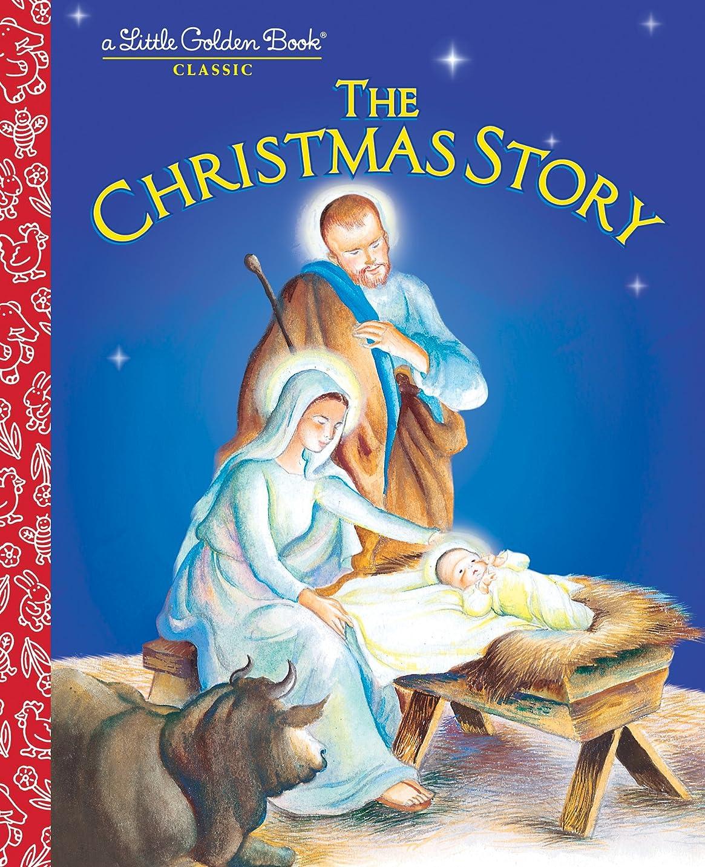 アナロジー子犬物理学者The Christmas Story (Little Golden Book) (English Edition)