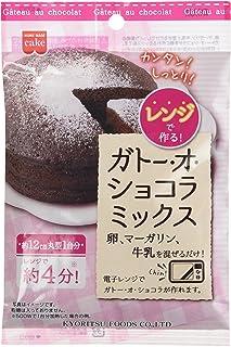 共立食品 レンジで作るガトー・オ・ショコラミックス 80g×10袋