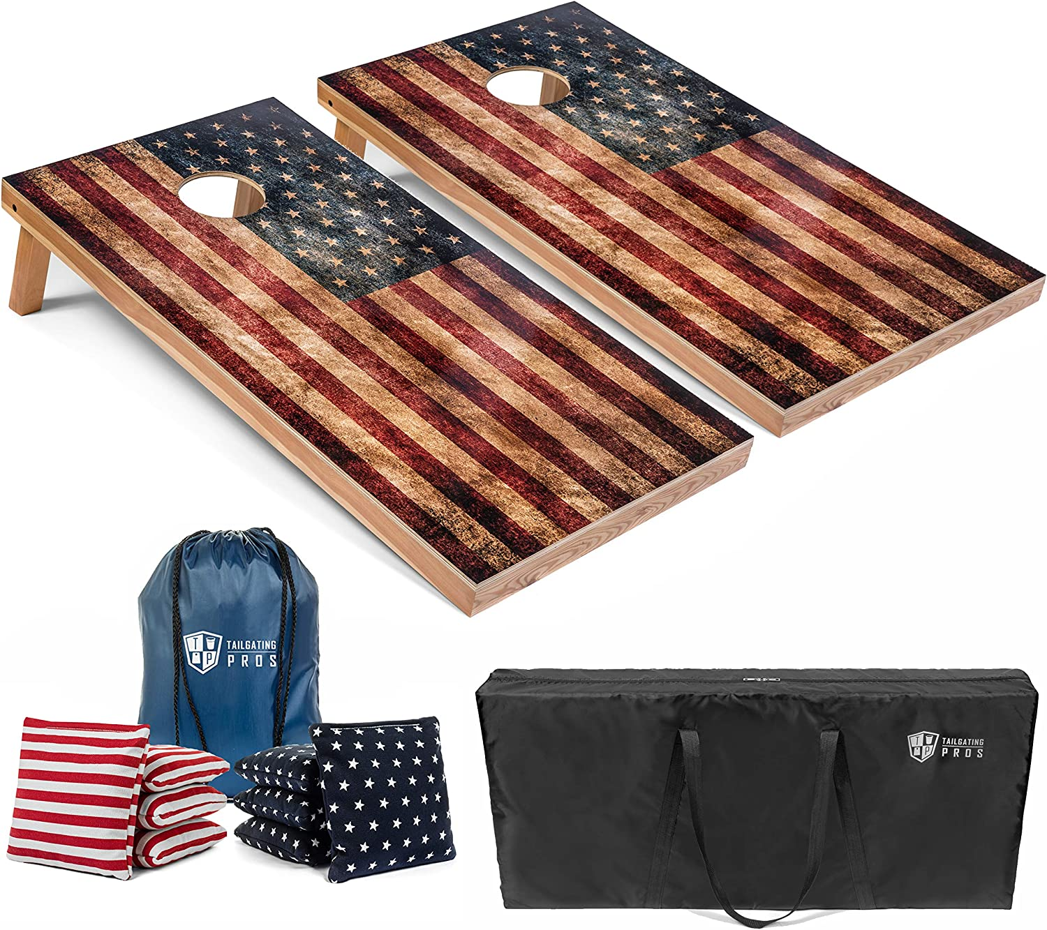 Tailgating Pros Cornhole Boards - 4'x2' 3'x2' w Manufacturer OFFicial shop Deluxe Game