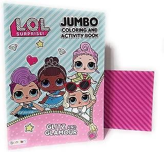 L.O.L Surprise! LOL! 80PG Coloring Book-1 Pc, Multicolor (Limited Edition)