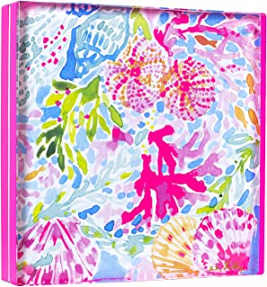 Lilly Pulitzer Acrylic Picture Frame-Neon Pink