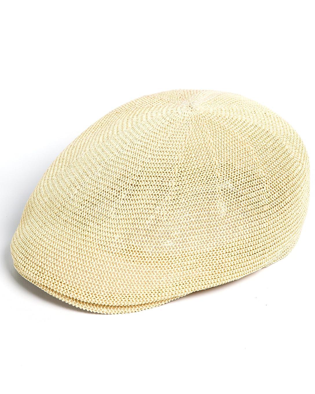 はっきりしない老人ファンネルウェブスパイダーYUTTALIA 麦わら帽子 メッシュ ハンチング ベレー帽