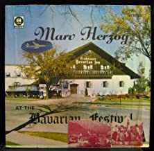 MARV HERZOG at the bavarian festival LP Used_VeryGoodSI 102 LPS Polka / Waltz Vinyl