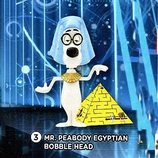 2014 Mr Peabody & Sherman Macdonald's Happy Meal Mr Peabody Egyptian Bobble Head Toy # 3