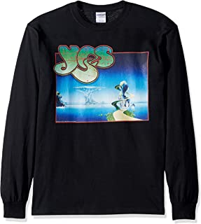 Liquid Blue Yes Yessongs Album Cover Long Sleeve Grapic Tee