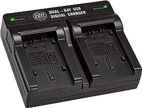 BM Premium VW-VBK180, VW-VBK360, VBT190, VBT380 USB Dual Battery Charger for Panasonic Camcorders