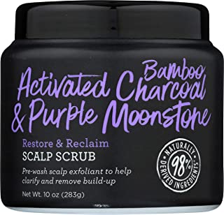 Not Your Mother's, Scalp Scrub Actvtd Bamboo Charcoal Purple Moonstone, 10 Ounce
