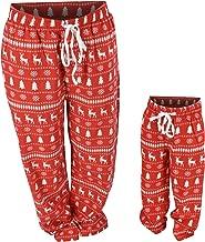 UB Winter Print Matching Family Holiday Pajama Pants