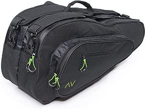 Gigavibe Premium 6R Tennis Bag in Black