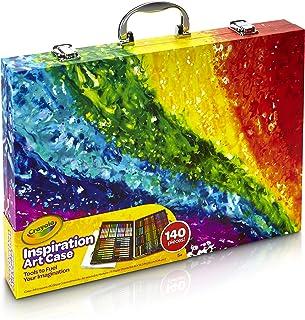 Crayola Inspiration Art Case Coloring Set, Gift for Kids,...