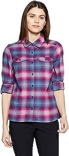 7a7442d1d3 Columbia Silver Ridge Lungo Sleeve Flannel Camicia Maniche Lunghe Donna