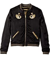 Little Marc Jacobs - Reversible Satin Effect Jacket (Big Kids)