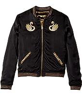 Little Marc Jacobs - Reversible Satin Effect Jacket (Big Kids)