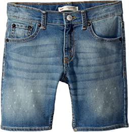 Levi's® Kids 511 Slim Fit Performance Denim Shorts (Little Kids)