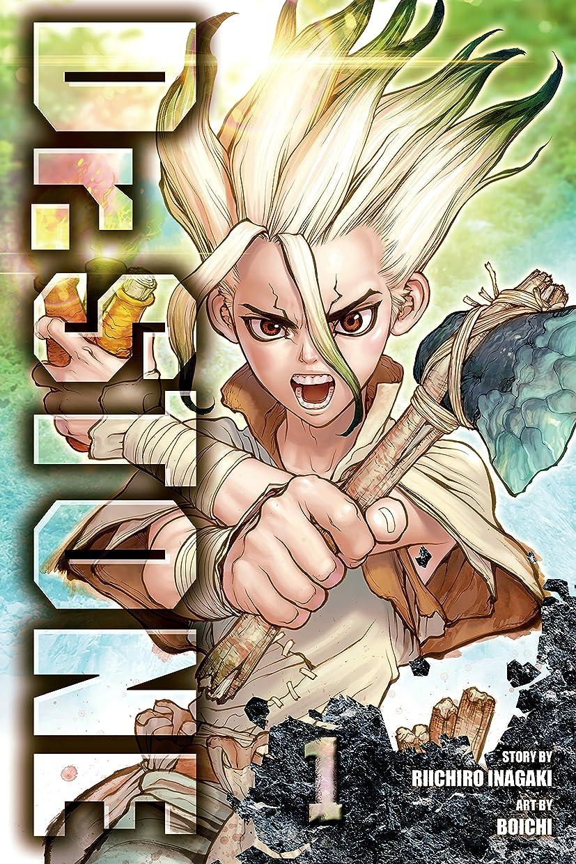 若者マウス経済Dr. STONE, Vol. 1: Stone World (English Edition)