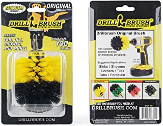 Drill Brush - The Original Drillbrush Power Scrubber - Bathroom Accessories - Shower Cleaner - Scrub Brush - Bath Mat - Sh...