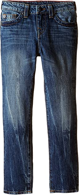 True Religion Kids - Fashion Geno Single End Jeans in Blue Book (Toddler/Little Kids)