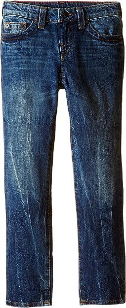 True Religion Kids - Fashion Geno Single End Jeans in Blue Book (Toddler/Little Kids)