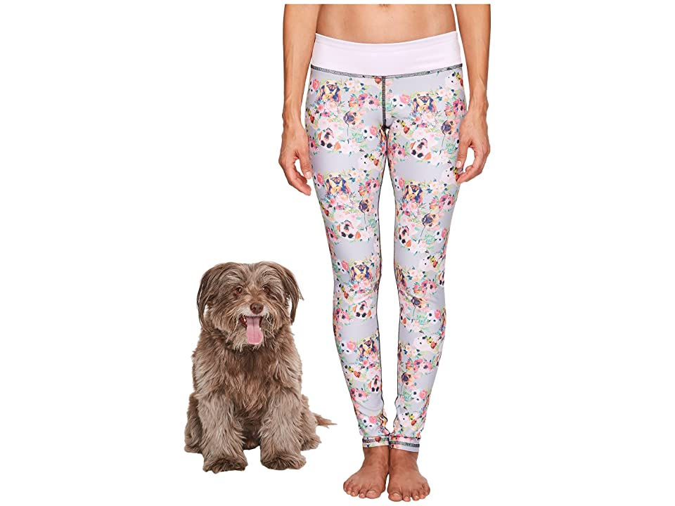 Puppies Make Me Happy - Puppies Make Me Happy Pawesome Blossom Leggings