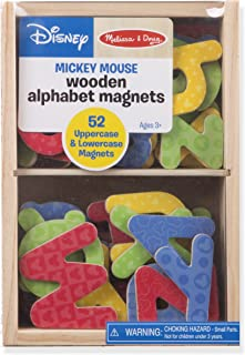 Melissa & Doug Mickey And Friends Wooden Alphabet Magnets