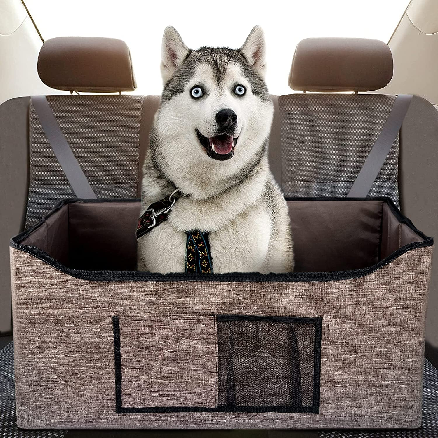 31x16inch Dog Car Booster Double-Sided Lining Seat- Cashmere Popular products National products