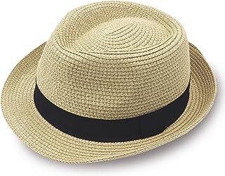 3f8f29fea0d8 Stynice Panama Hat Foldable Fedora Hats for Women & Men Short Brim Straw  Hats Beach Sun