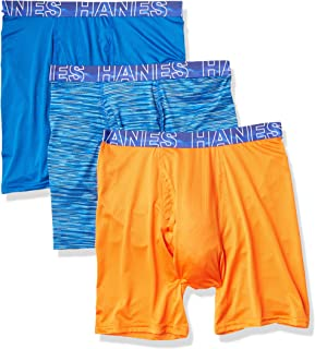 Men's X-Temp 4-Way Performance Stretch Mesh Boxer Brief (Color / Pattern may Vary)