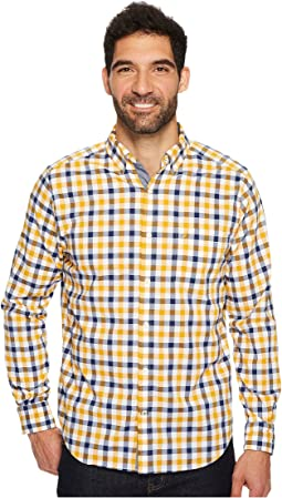 Nautica - Long Sleeve Tattersall Woven Shirt