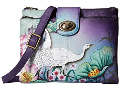 Anuschka Handbags 595 (Peaceful Garden) Handbags